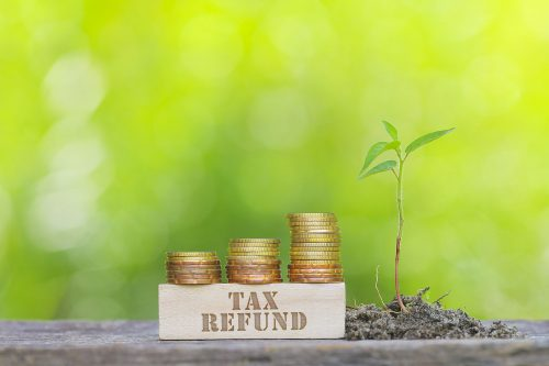 How can a tax refund lower your interest rate